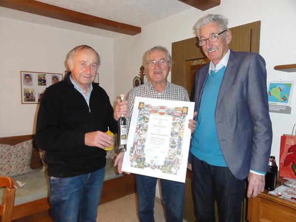 Bernhard Wulz, Manfred Trippolt, Werner Drexel (von links)