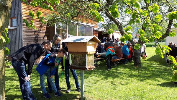 Tag der offenen Tür beim Bienenzuchtverein Wolfurt